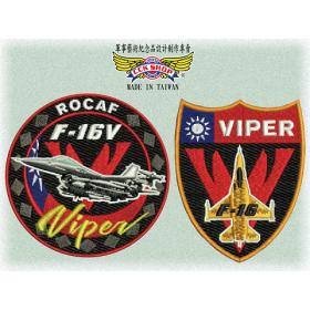 F-16V Viper戰機臂章機種章